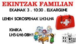 EKINTZAK  FAMILIAN