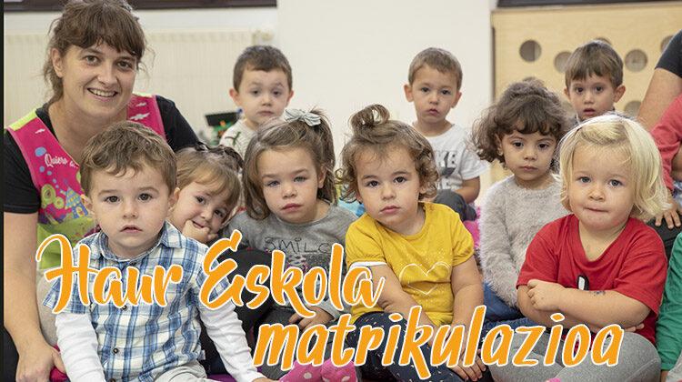 FLOREAGAKO HAUR ESKOLA 0-3  2020-21 IKASTURTEA